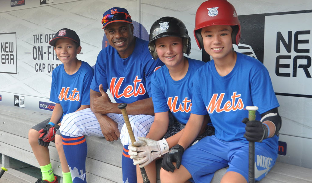 2010 - ANNUAL SUMMER SERIES LAUNCHES to host hundreds of community groups at Major League Baseball games across the country, and inspire a new generation of fans.